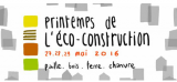 Démonstrations Printemps de l'écoconstruction - Rennes 27/29 mai