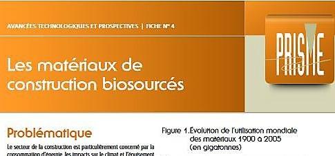 actualit s tous mat riaux biosourc s l institut de la francophonie pour le d veloppement. Black Bedroom Furniture Sets. Home Design Ideas