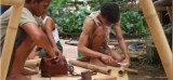 **Learning Basic Bamboo Joinery With Indonesian Carpenters