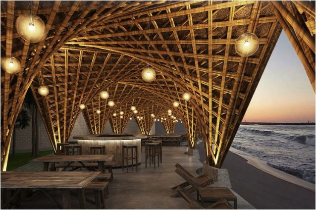 Designs Bamboo Beachfront Resort in Vietnamese Cove